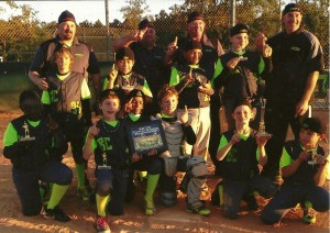 10-2014 BCC SSTB Power Series 10U Champions- Apopka, FL