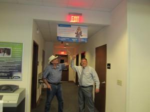 11-06-2014 Board Secretary &Treasurer Joe Switt w President & CEO Steven Nazaruk