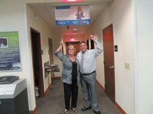 11-06-2014 Judy Scott w LSCU joins Steven Nazaruk of OCCU