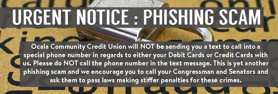 Urgent Notice – Phishing Scam