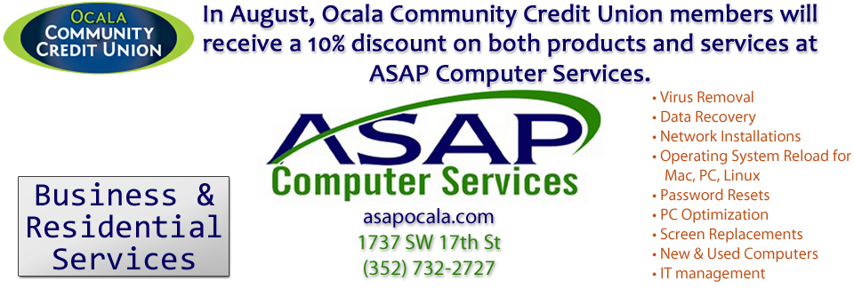 ASAP Computers 10% Discount.