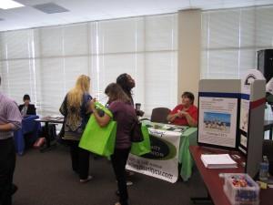 09-26-2014 OCCU Participates inWebster University's 1st Annual Resource Fair