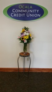 02-2015 A Flower Hayven - Lobby Display - Wk#1