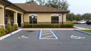 03-03-2015 New Handicap Parking Space