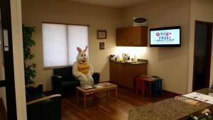 04-03-2015 Liz in Easter Bunny Costume