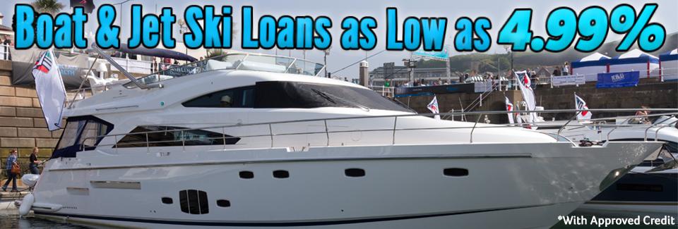 Boats and Jet Ski Loans