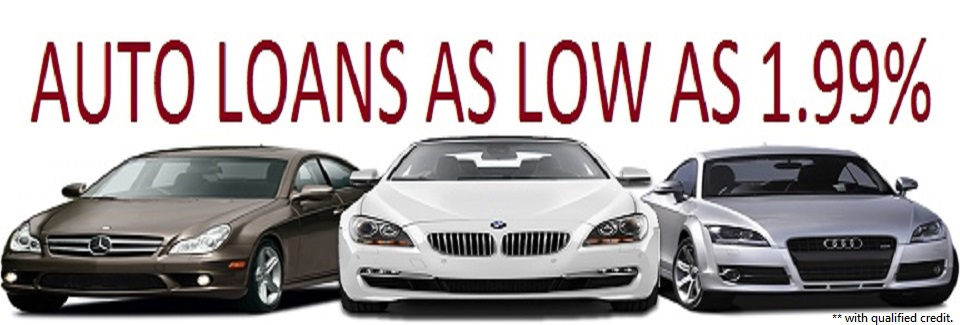 2015 Auto Loans as low as 1.99