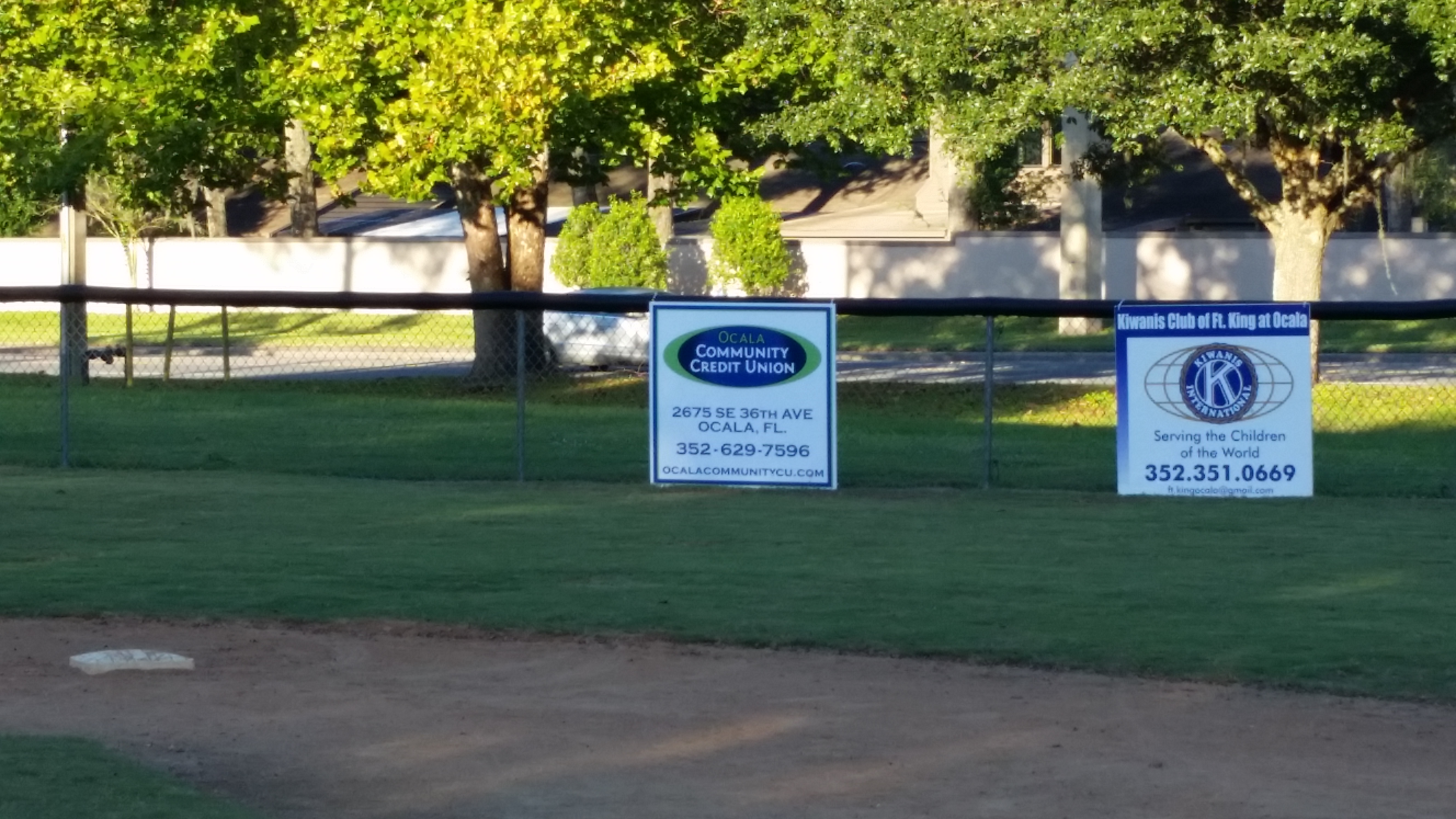 10-06-2015 OCCU Sponsors City T-Ball