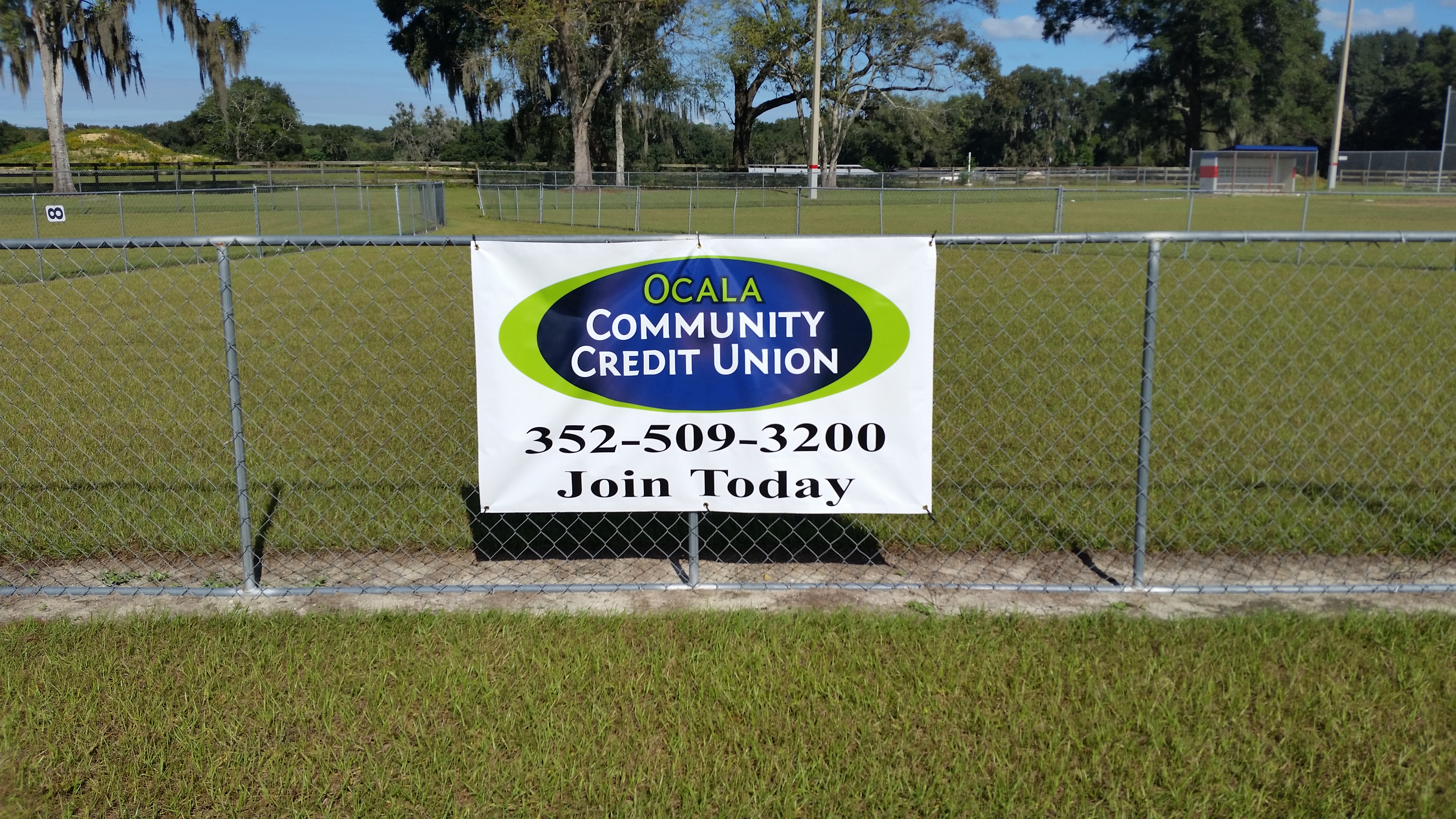 11-01-2015 Field Sponsorship-Oak-Griner Youth Baseball Sign