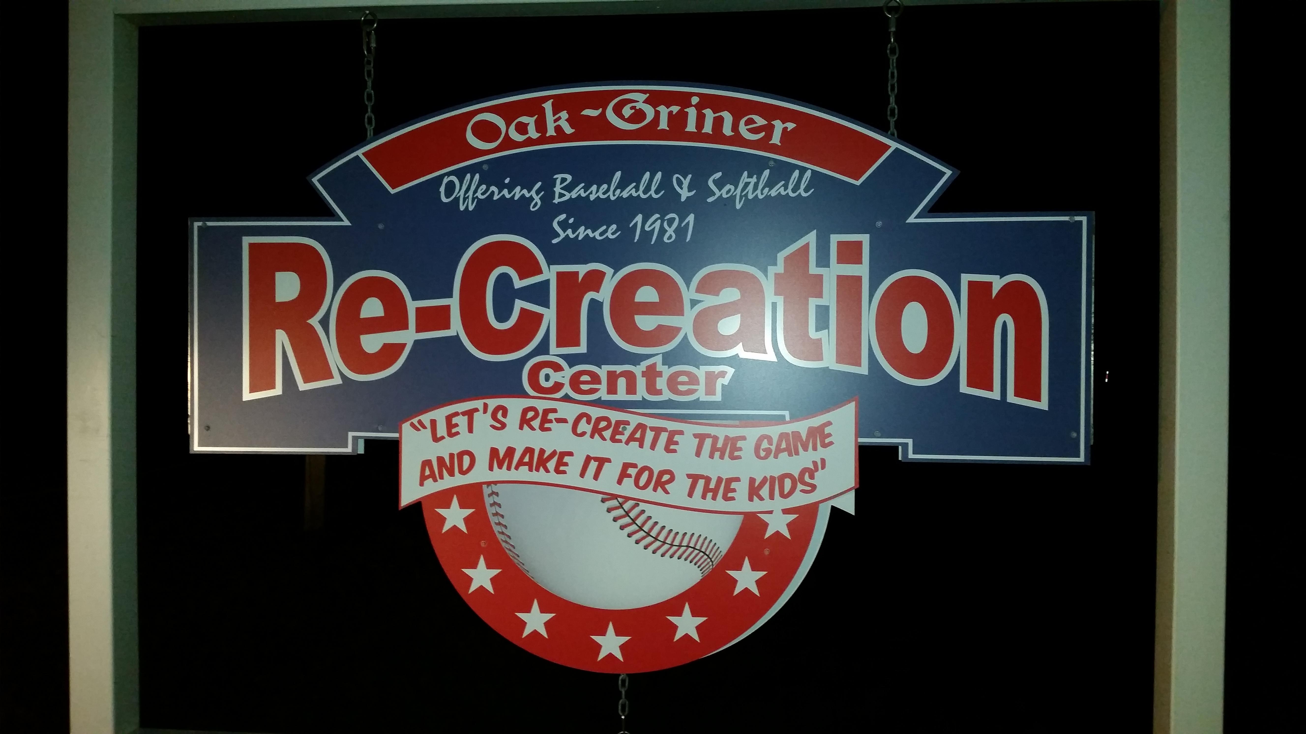 11-01-2015 Field Sponsorship-Oak-Griner Youth Baseball