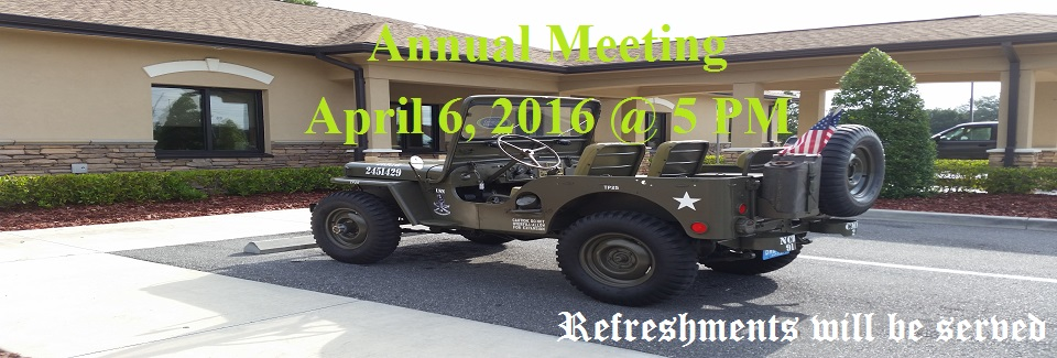 2016 Annual Meeting Announcement Web Banner