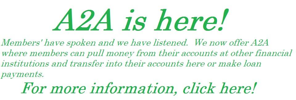 A2A Transfers