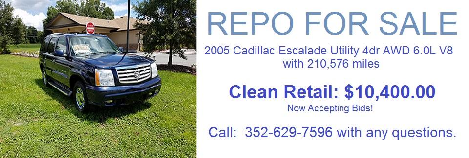 2016 – 2005 Cadillac Escalade Util 4dr AWD Repo