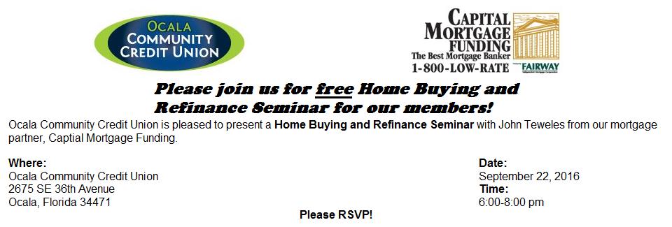 2016 Mortgage Seminar
