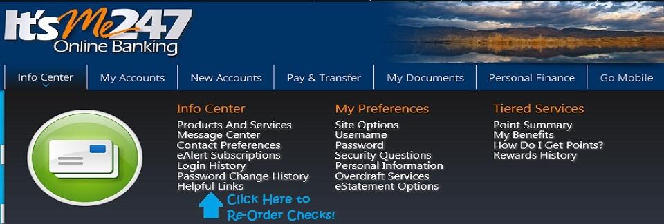 2017 Info Center – Helpful Links (Re-Order Checks)