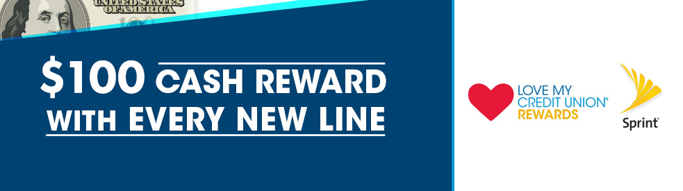 $100 Cash Reward - Sprint