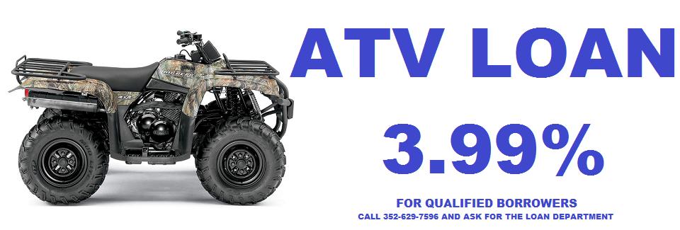 2018 ATV Loan Promo