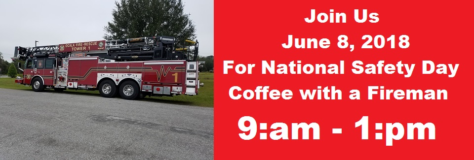 2018 Coffee with a Fireman
