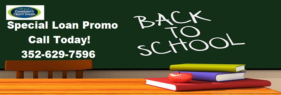 2018 Back To School Loan Promo