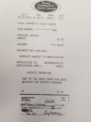 08-20-2018 New Smart ATM - Deposit Cash & Checks