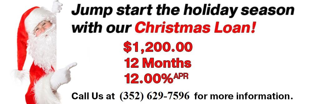 Christmas Loan Promo