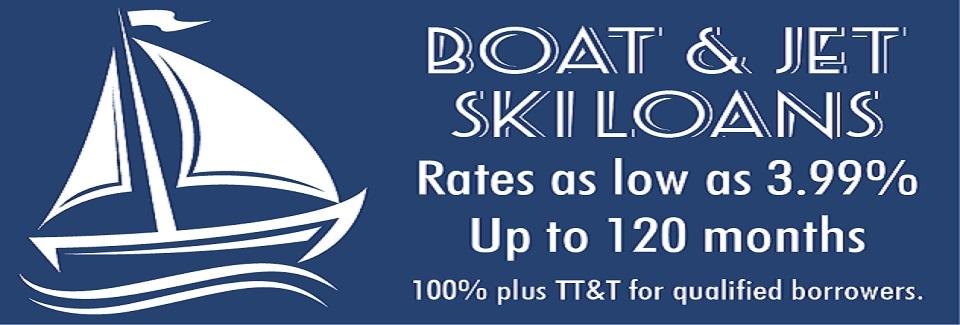 Boat & Jet Ski Loan Promo