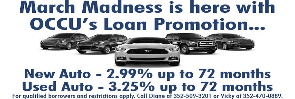 Auto Loan Promotion