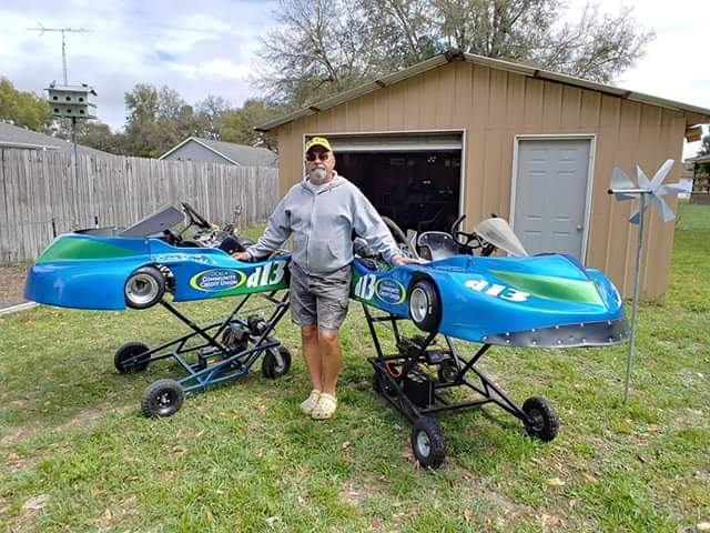 02-2019 Mr. Diehl and his Racing Karts.