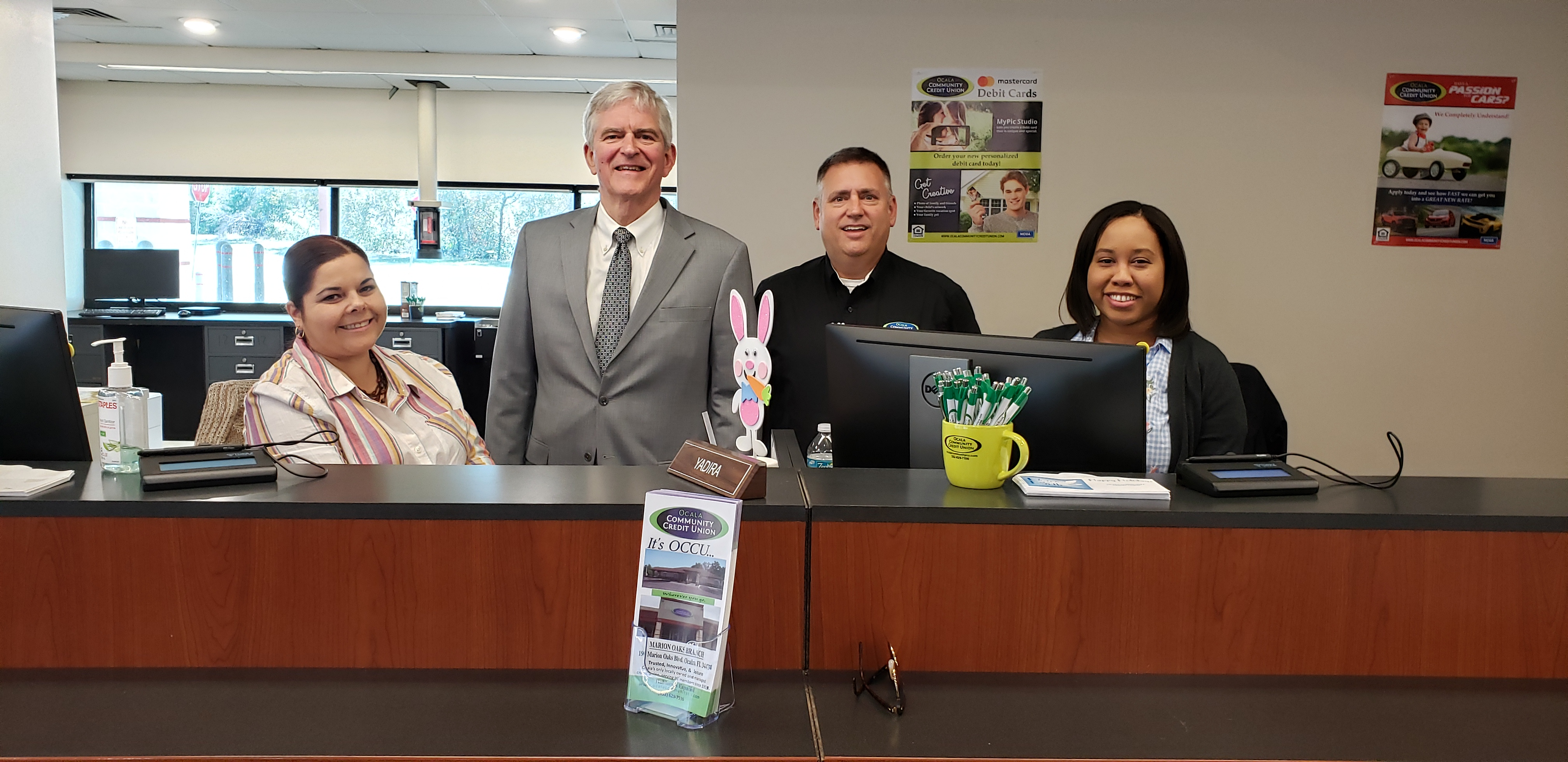 03-22-2019 U.S. Congressman Daniel Webster visits Marion Oaks Branch