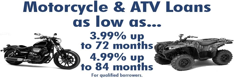 Motorcycles & ATV's – Loan Promo