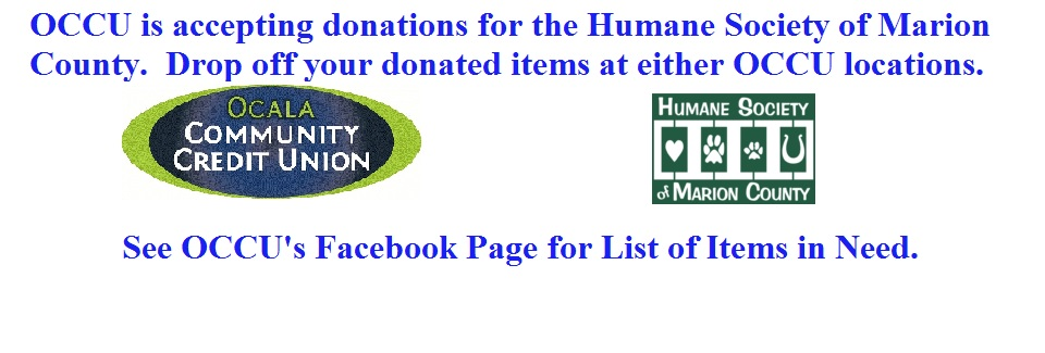 Donations Accepted for Humane Society of Marion County