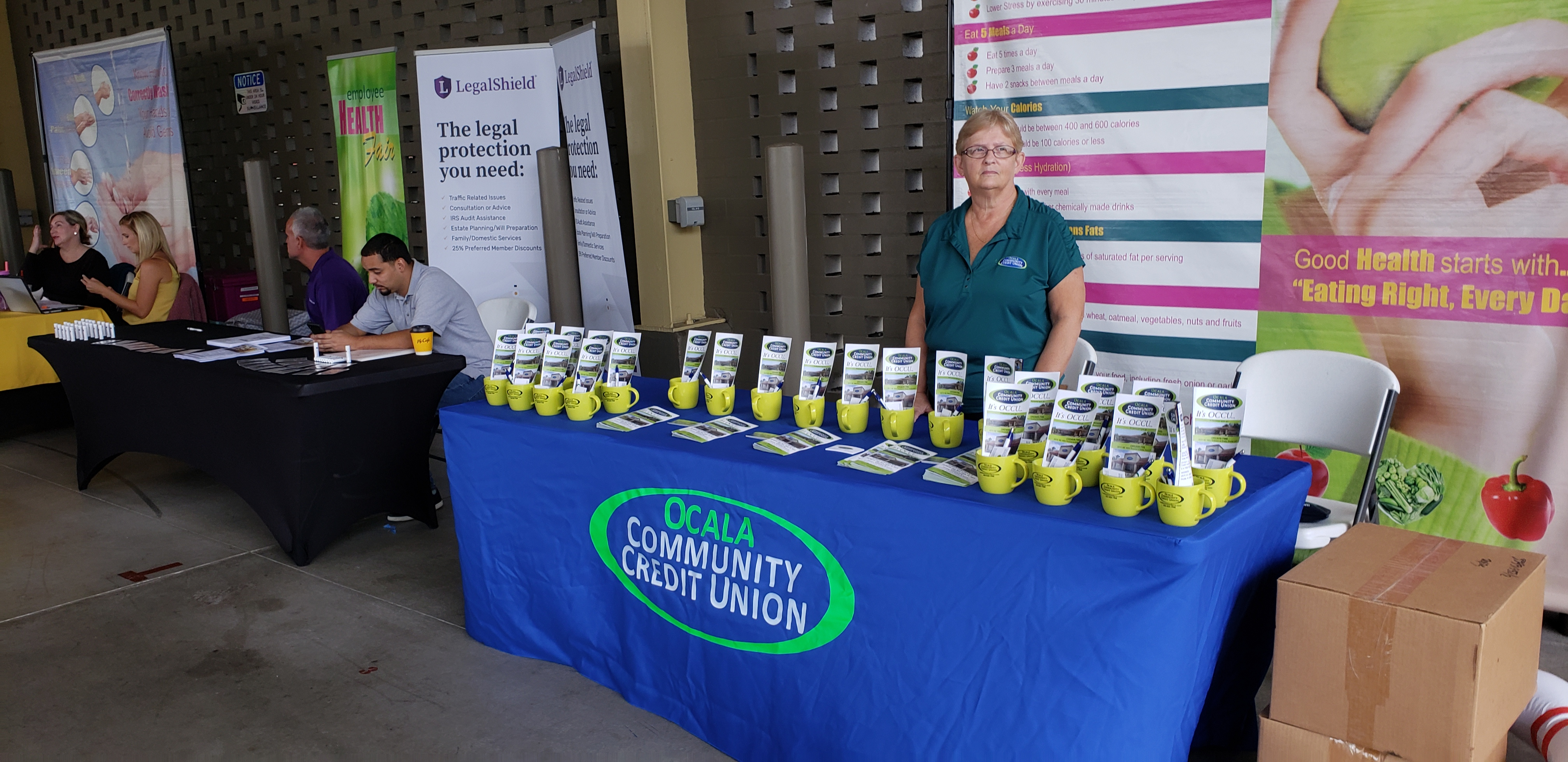 11-06-2019 OCCU @ City of Ocala's Health Fair