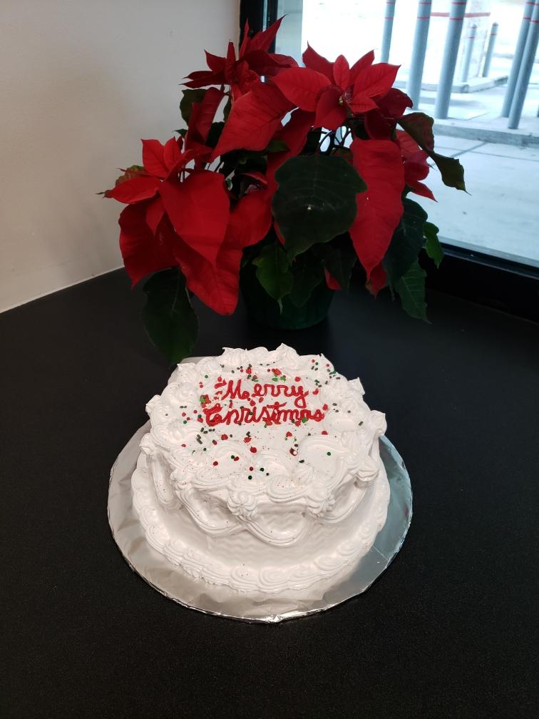 2019 Marion Oaks Branch Christmas Cake