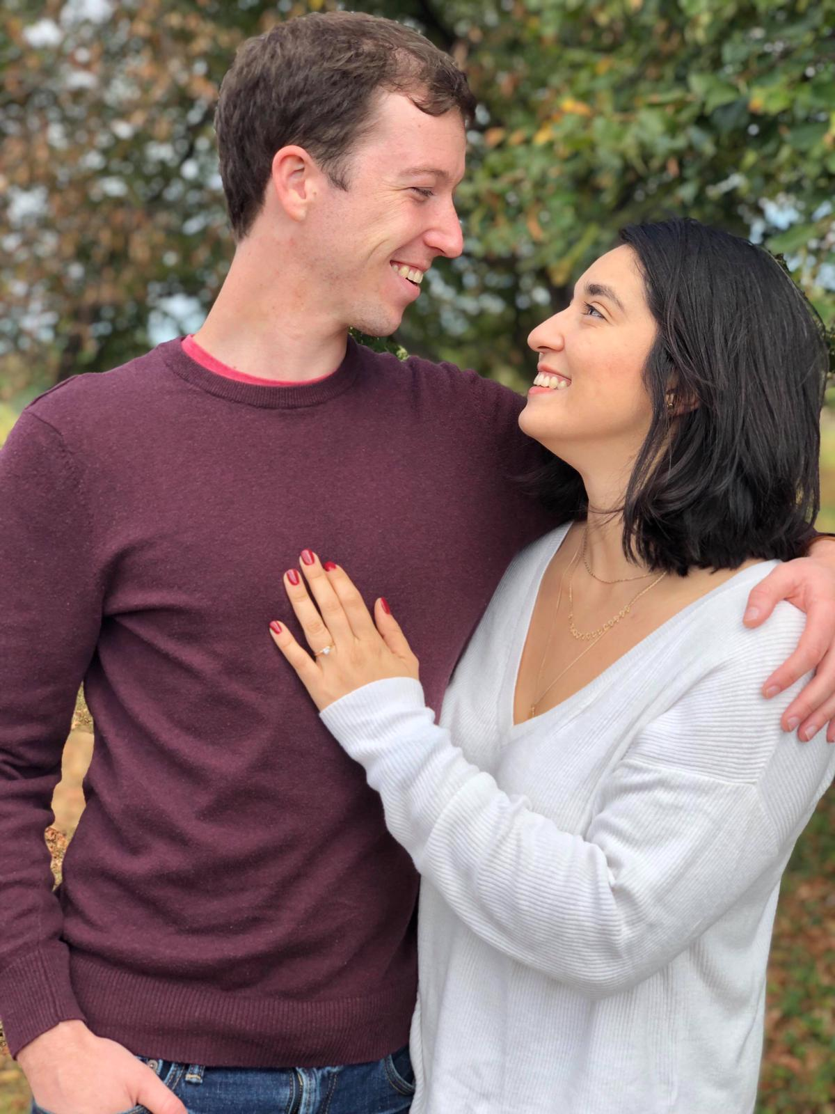 James Marshall & Jacqueline Rojas engagement