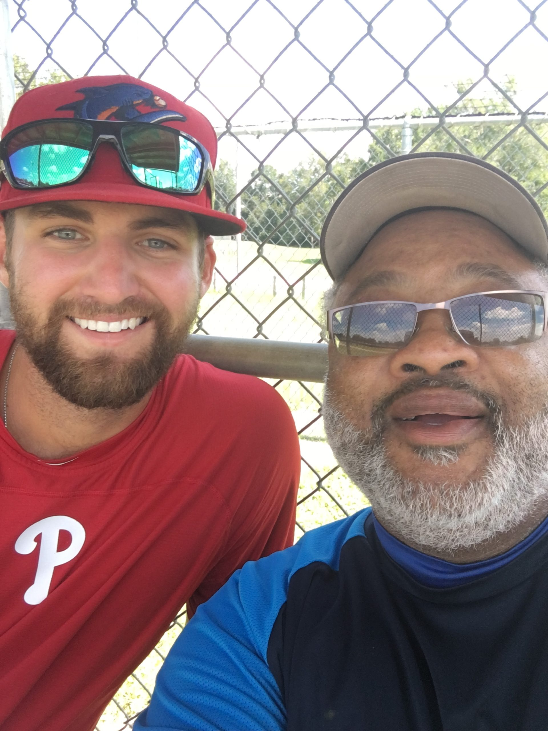 06-22-2020 Mr Carter w Phillies Pitcher Jake Perkins