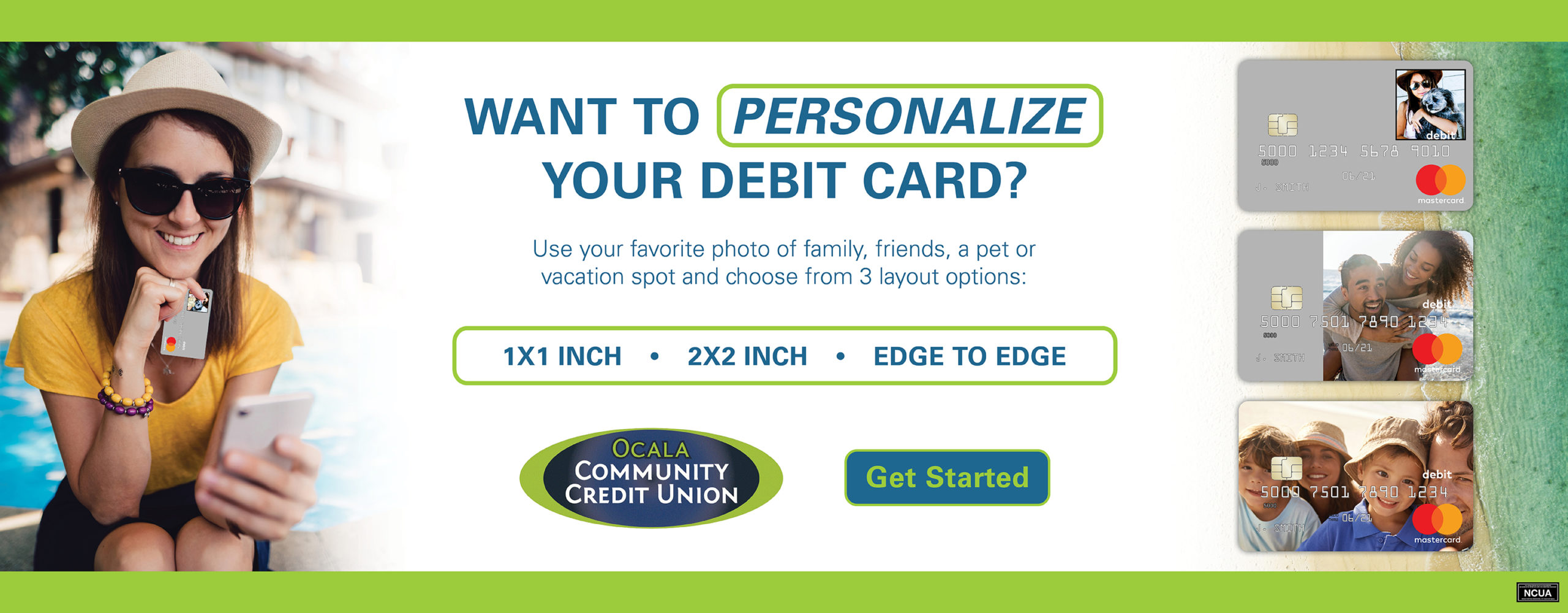 Personalize Your Debit Card