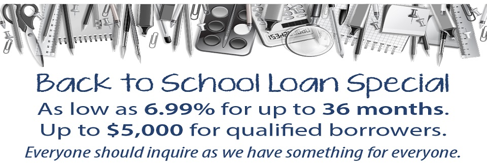 09-2020 Back To School Loan Promo