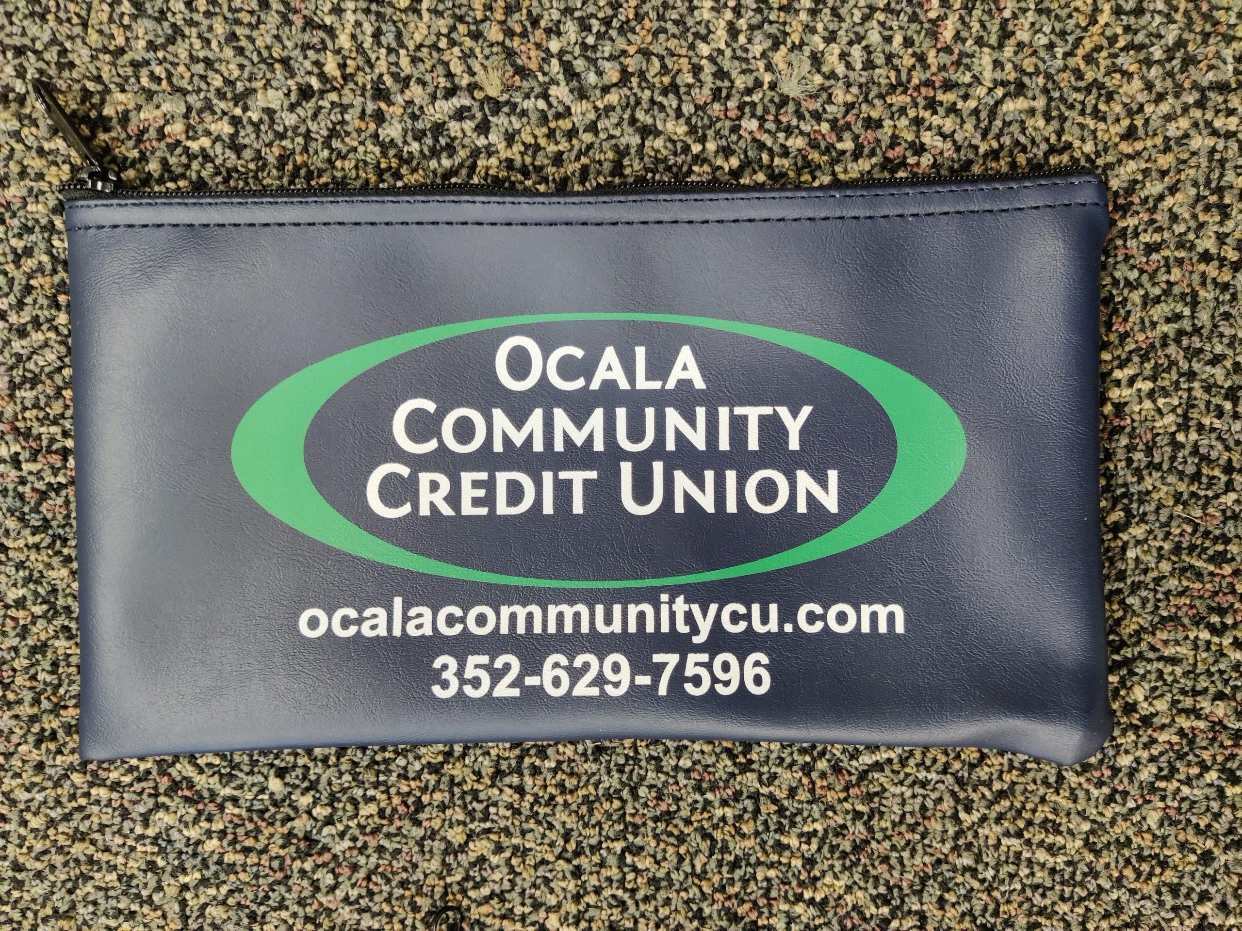 Ocala Community Credit Union Zipper Bag