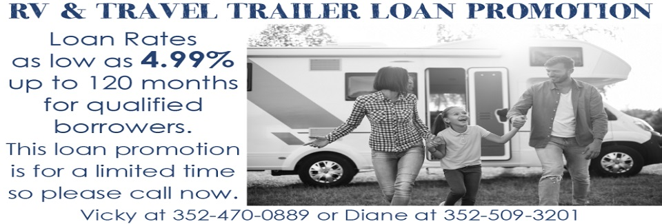 2021 RV & Travel Trailers Loan Promo