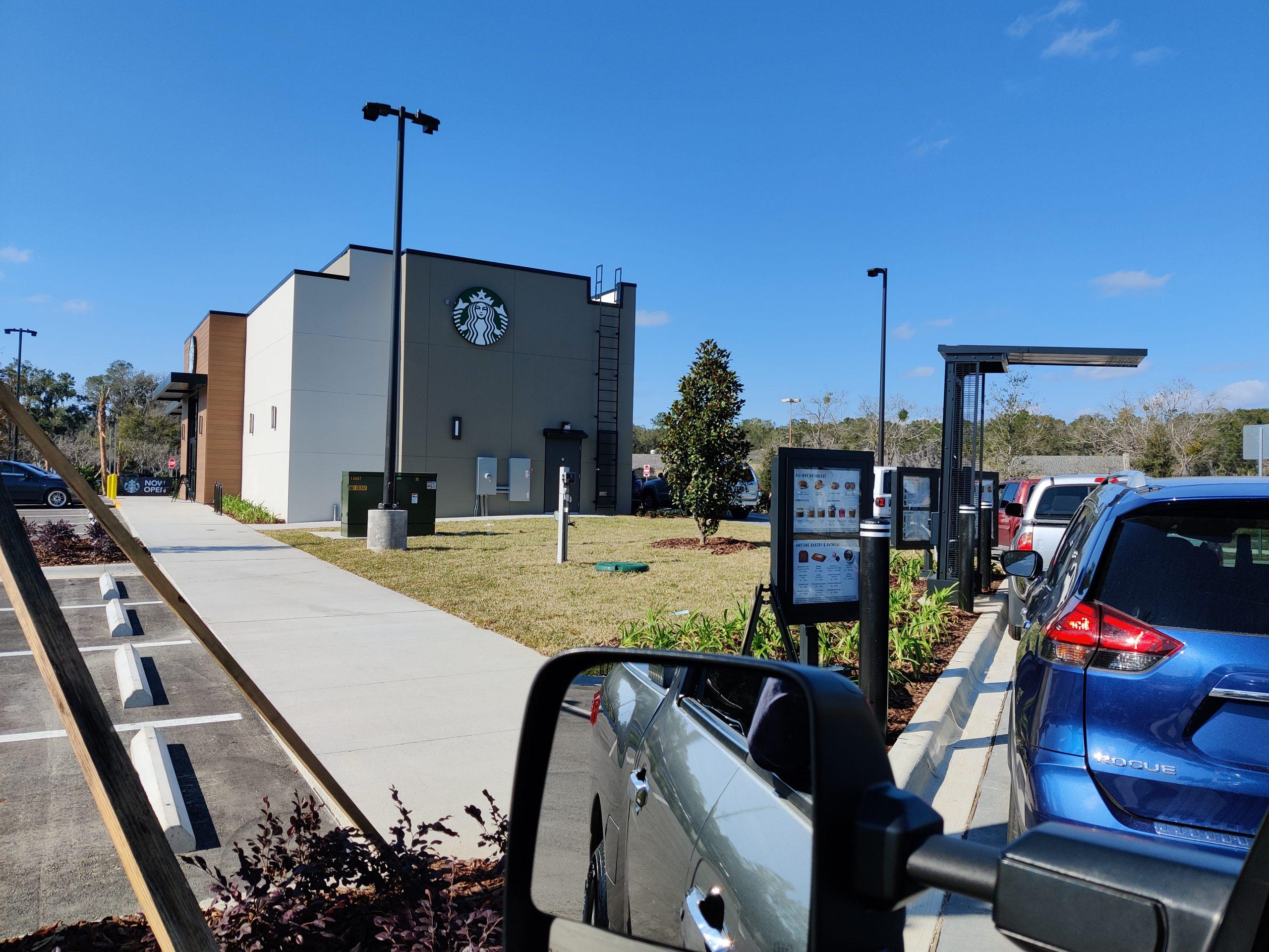 02-07-2021 Starbucks Opens around corner