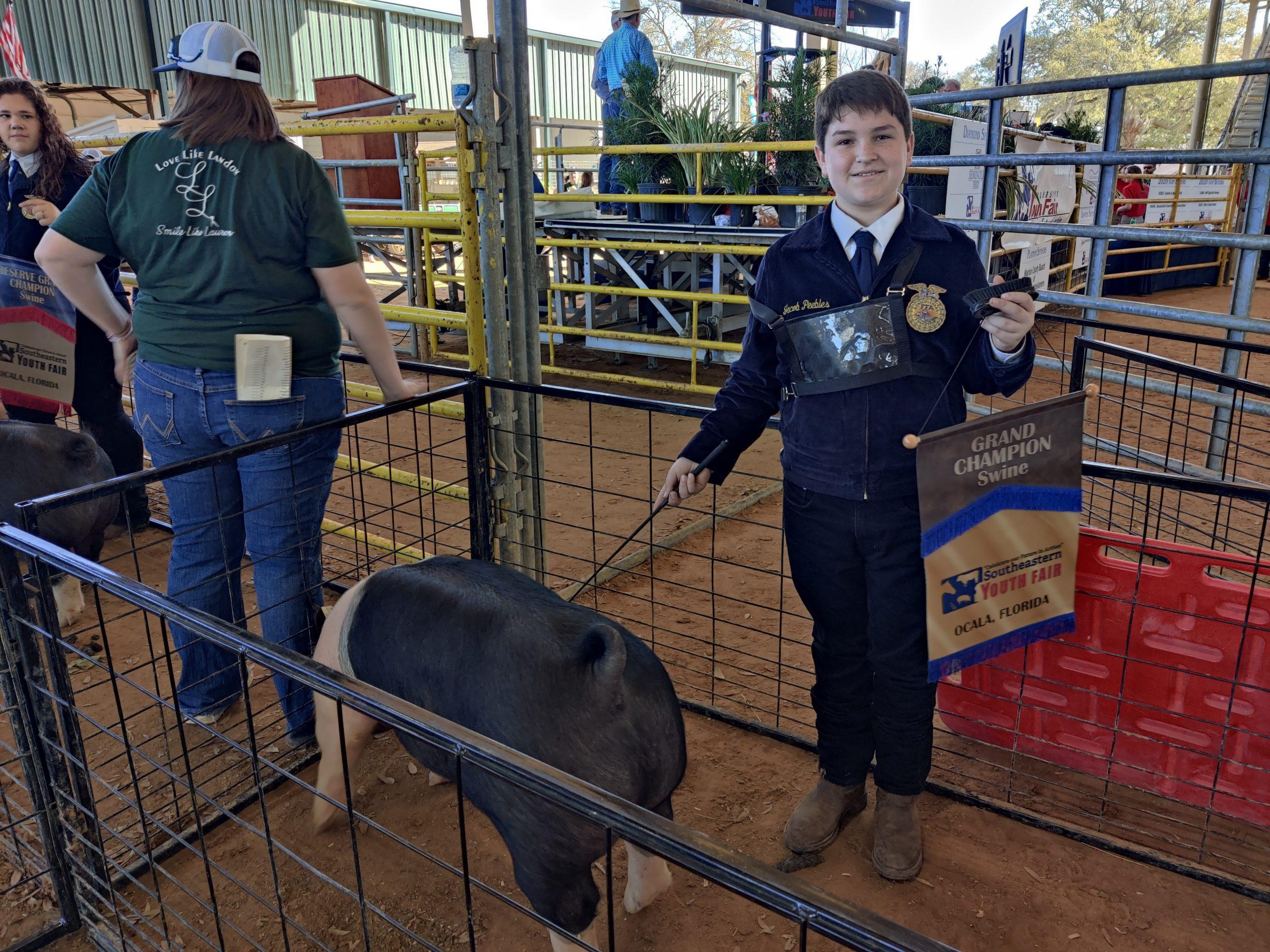 02-27-2021 Grand Champion - Swine
