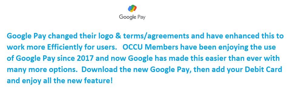 New Google Pay!