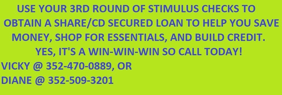 Shared Secured Loan - Stimulus
