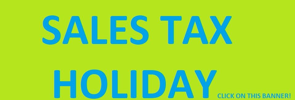 05-28-2021 SALES TAX HOLIDAY