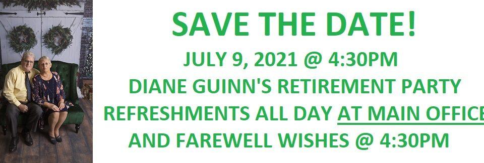 DIANE GUINN'S RETIREMENT – 07-09-2021