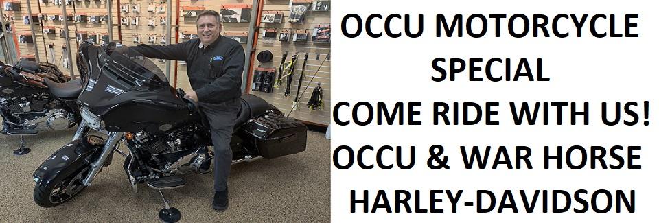 OCCU & WAR HORSE HARLEY-DAVIDSON