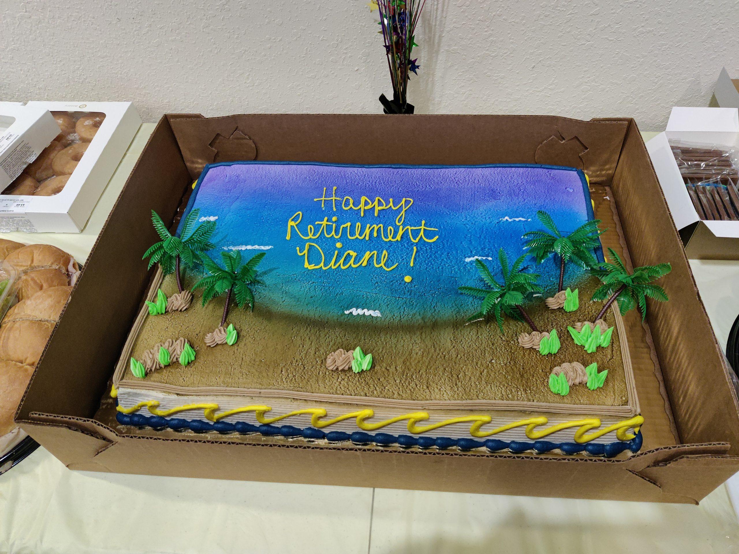 07-09-2021 Diane's Retirement Cake