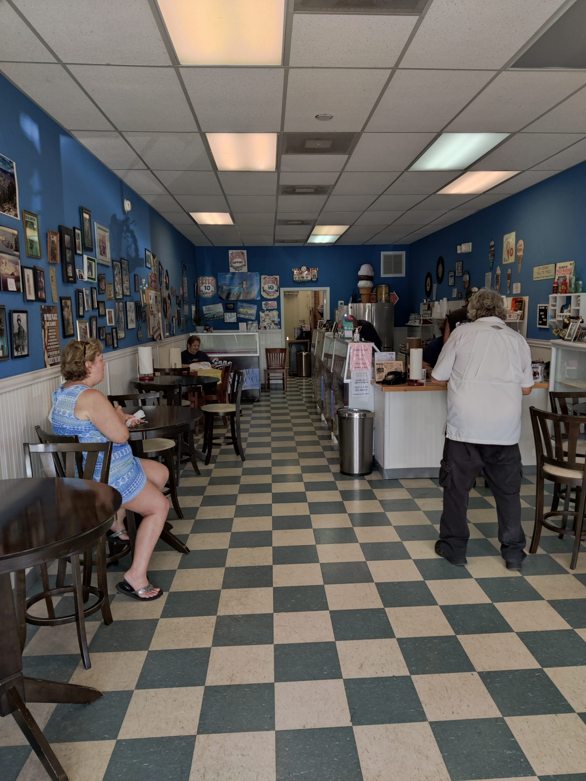 07-31-2021 LaRue's Ice Cream has expanded to 40 flavors