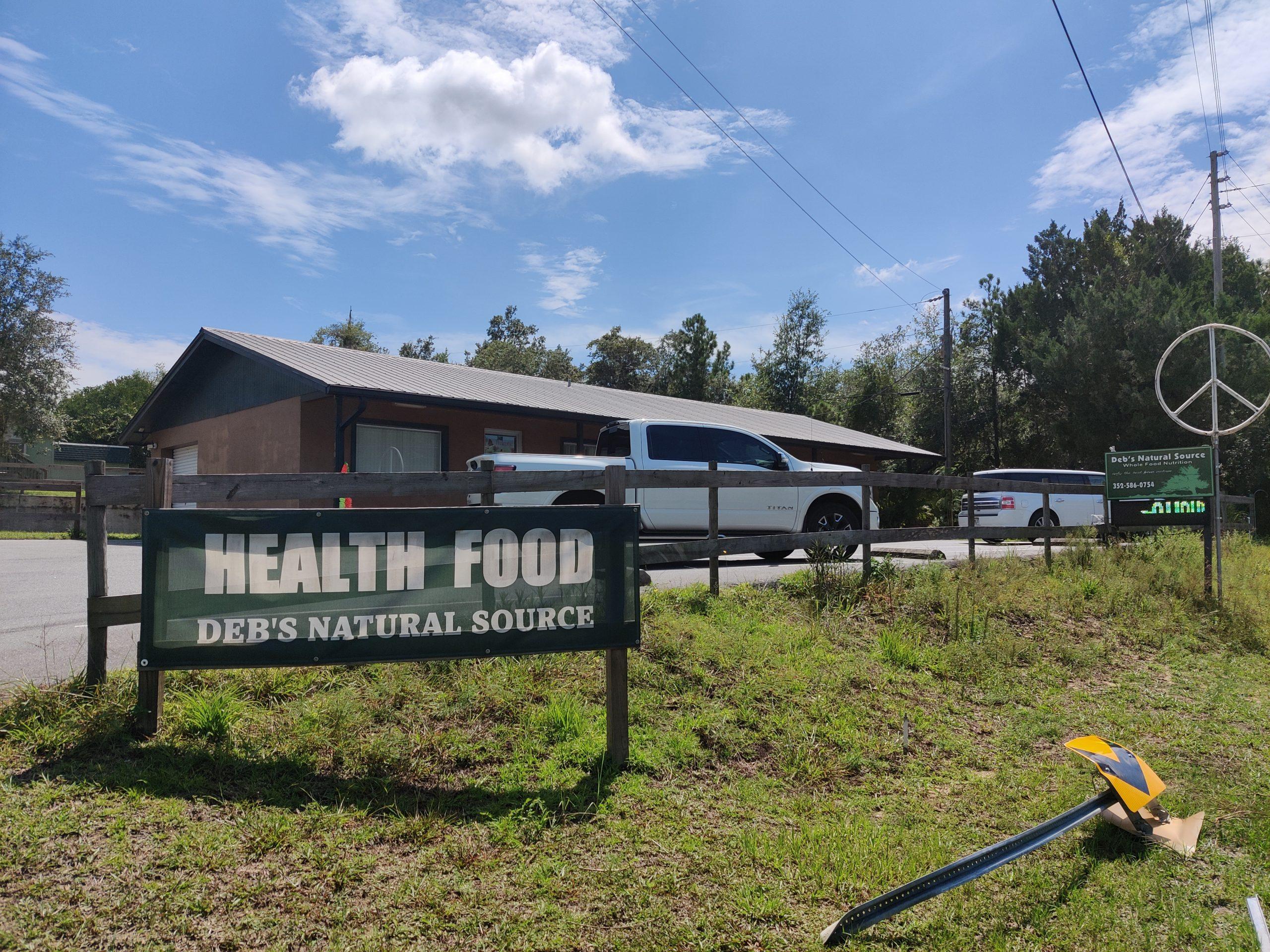 08-07-2021 Deb's Natural Source Health Food