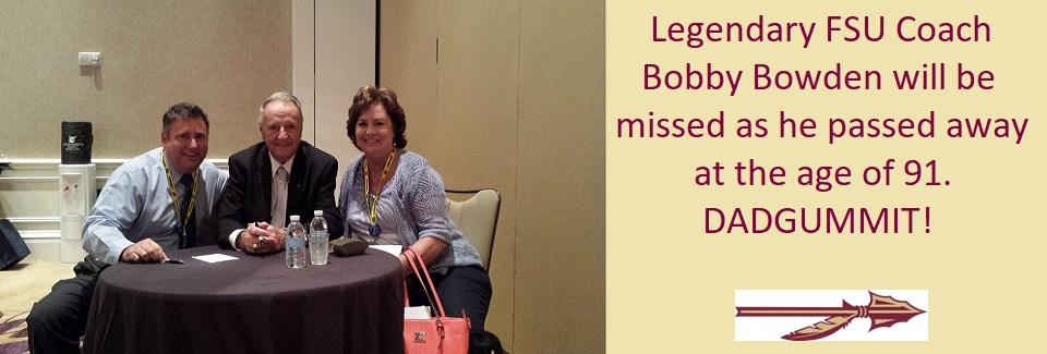 08-08-2021 Bobby Bowden Passes @ age 91
